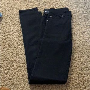 Cheap Monday Second Skin Black Jeans NWT